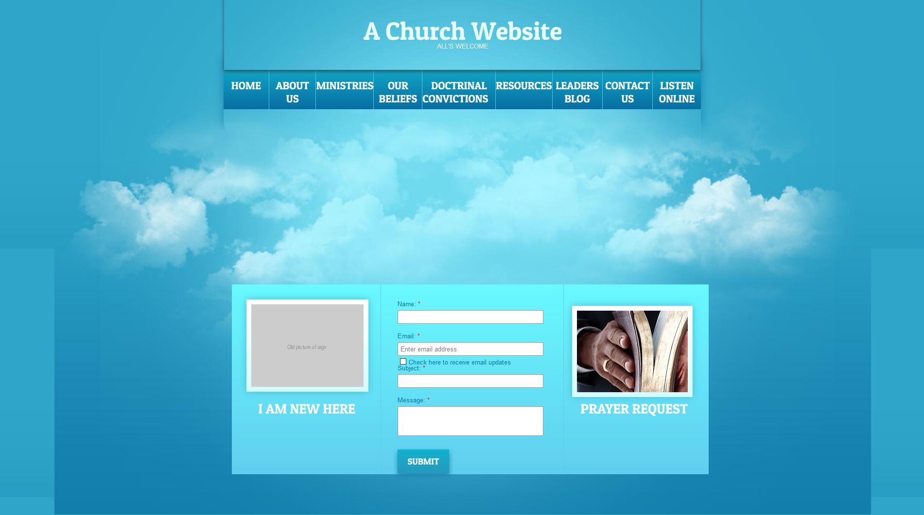 hypothetical-church-website